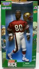 "1998 Jerry Rice 12"" Starting Lineup Fully Poseable Figure New in Box - SF 49ers"