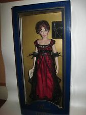Franklin Mint Titanic Official Vinyl Portrait Rose Doll in Red Jump Dress NRFB