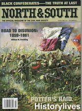 North & South V10 N2 Black Negro Confederates Potter's Raid Secession Monitor