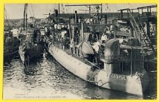 cpa NAVIRE BATEAU GUERRE MARIN CHERBOURG French Navy Contre Torpilleur CATAPULTE