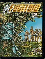 Fugitoid #1(EASTMAN & LAIRD, early TMNTs), Orb #5, 2000 AD, Rog 2000, Darc Tang.