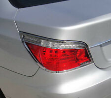 2 3M Backing Chrome Tail Light Lamp Rear Trim [Fits: BMW 5 E60 08-10 SERIES]