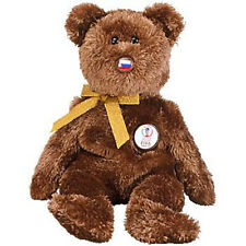 TY Beanie Baby - CHAMPION the FIFA Bear ( Russia ) (8.5 inch) MWMT's