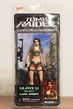 Tomb Raider Lara Croft Action Figure Player Select NECA