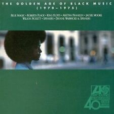 THE GOLDEN AGE OF BLACK MUSIC 1970-1975 By VARIOUS ARTISTS (CD, 1988, Atlantic)