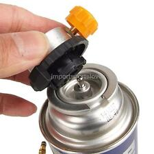Picnic Gas Fuel Canister Stove Can Burner Cartridge Tank Adapter Heater