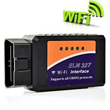 WIFI ELM327 Wireless OBDII Auto Scanner Adapter Scan Tool for iPhone iPad FT