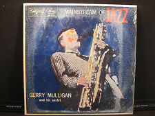 Gerry Mulligan and his sextet Mainstream of JAZZ MG 36101