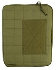 Coyote Army IPAD  / Tablet Case with Molle Platform Padded Lining Military