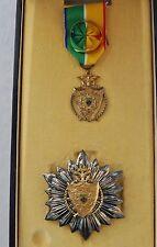 Gabon: Ordre National du Merite, ensemble de Grand Officier