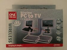 ONE for All PC to TV Wireless Neu und OVP