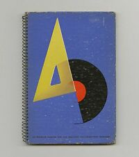 1941 Alex Steinweiss A-D rare Cover + Record Album Graphic DESIGN Herbert BAYER
