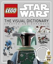 LEGO Star Wars The Visual Dictionary Updated and Expanded, New, Free Shipping