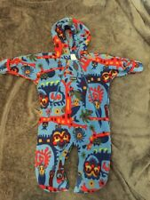 Patagonia Baby Bunting Owl Jungle Fleece 12 Months