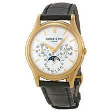 Patek Philippe Grand Complication White Dial 18kt Yellow Gold Mens Watch