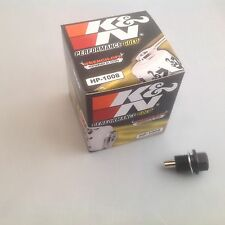 Mitsubishi FTO (All Engines) K&N Oil Filter + Magnetic Sump Plug