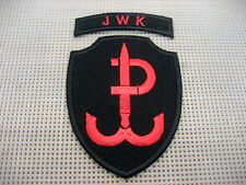 Poland Polish Army COMMANDO Patch,JWK