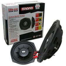 """EARTHQUAKE SWS-8Xi 8"""" 2 OHM SHALLOW MOUNT CAR SUBWOOFER FITS FACTORY BMW BOBBIN"""