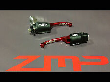 YAMAHA RAPTOR 660 01 - 05 F3 ASV RED CLUTCH AND BRAKE LEVERS KIT