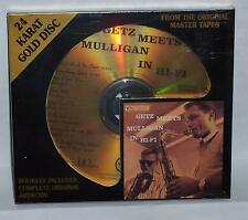 DCC ** SEALED ** CD   GETZ MEETS MULLIGAN IN HI-FI  **BONUS TRACKS **  GOLD DISC