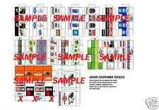 1/24 1/25 Diorama Parts Box SET 20 and 21 for Shop Garage Accessories By A608