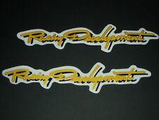 Racing Development Aufkleber Sticker Race Moto GP Decal Bapperl Kleber Logo 18O