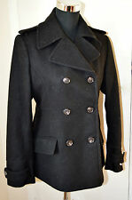 NEW Henri Lloyd Bernadette Double Breasted Jacket Black UK size 12 / M RRP £250