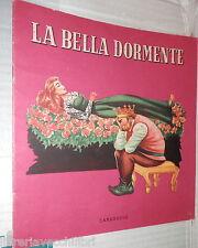 LA BELLA DORMENTE Carroccio 1960 Favole Fiabe Narrativa Ragazzi Racconti Bimbi
