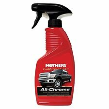 Mothers California Gold All Chrome Quick Polish Cleaner Car Spray 12 oz 05222
