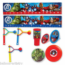 48 Piece Marvel's AVENGERS HEROES Children's Party Gifts Loot Favours Value Pack