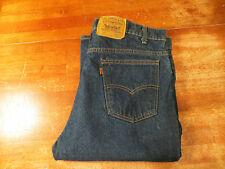 MEN'S LEVIS VINTAGE ORANGE TAB STRAIGHT LEG 517 0217 (EUC) SIZE 38X30