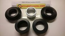 Yamaha YZF R1 R1M RN32 2015 2016 2017 Captive wheel Spacers. Superbike full set