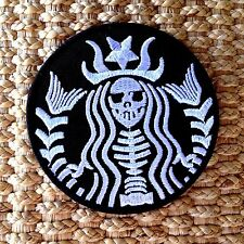 STARBUCKS Coffee Zombie Logo Symbol Jacket T-shirt Patch Sew Iron on Embroidered