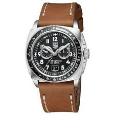 Luminox 9447 Gent's Chrono Black Dial Brown Strap Dive Watch