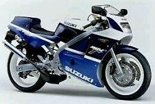 SUZUKI RGV250 VJ21 MODEL BLUE/WHITE VERSION ONLY FULL PAINTWORK DECAL KIT