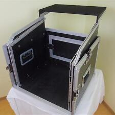Flight Case pour 10U mixette, ordinateur portable et rack 8U, DJ Rack Flightcase