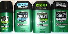 3 Brut Classic Scent 24 Hour Deodorant ~ The Essence of Man ~ 2.5 Ounce Cans ~