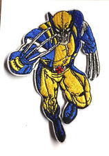 "X-MEN WOLVERINE Logo  4"" Embroidered Patch- FREE S&H  (XMPA-11-A)"