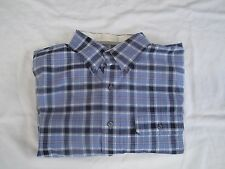 IZOD Campus Twill  Men's Long Sleeve Button Down Shirt Colony Blue Size: XXL $55