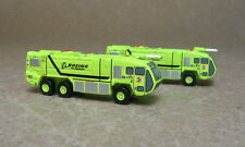 1/400 Panda Model GSE, Fire trucks, green, set of 2.