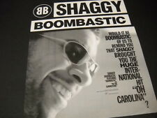 SHAGGY Would It Be BOOMBASTIC...? 1995 Promo Display Ad mint condition