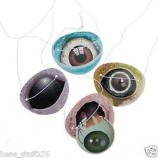 Zombie Eye Patches, Paper Halloween Favors, Trick or Treat Loot, Eyepatches 12p