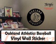 Oakland Athletics Baseball Vinyl Wall Sticker