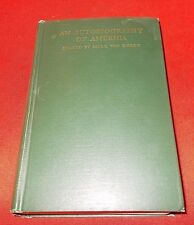 """Autobiography Of America""  Mark Van Doren  *1929 Signed 1st Edition*"