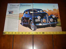 1940 CHEVROLET MASTER 85   - ORIGINAL 2005 ARTICLE