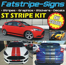 FORD Focus ST rayures Autocollants voiture MK4 graphiques stickers alliages vinyle 2.0 turbo