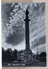 Forlì - Monumento ai caduti [grande, b/n, viagg. 1956]