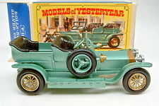 "Models of Yesteryear Y-15A Rolls Royce Silver Ghost grünmetallic in ""E"" Box"