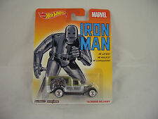 Hot Wheels Marvel Iron Man 34 Dodge Delivery real riders
