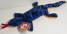 "TY Beanie Babies ""LIZZY"" the LIZZARD - MWMTs! RETIRED! PERFECT GIFT! A MUST HAVE"